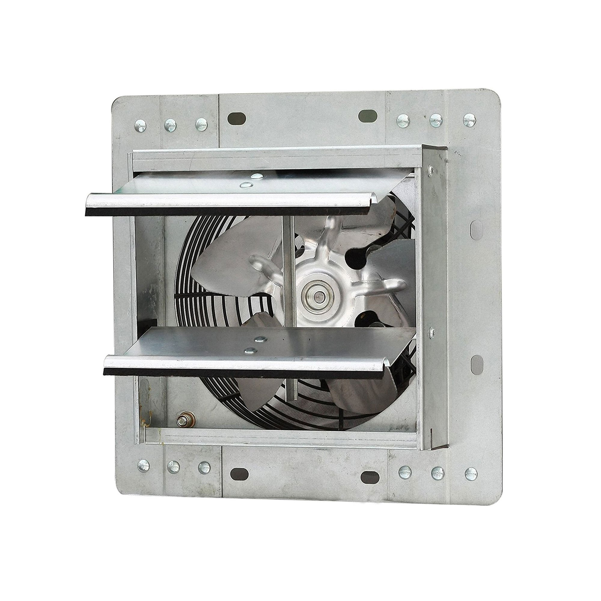 iLiving 7 Inch Variable Speed Shutter Indoor Crawl Space Commercial Exhaust Fan