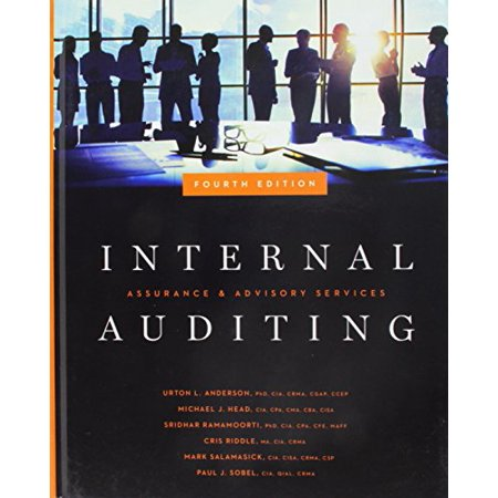 Internal Auditing: Assurance & Advisory Services, Fourth Edition, 9780894139871, Hardcover,