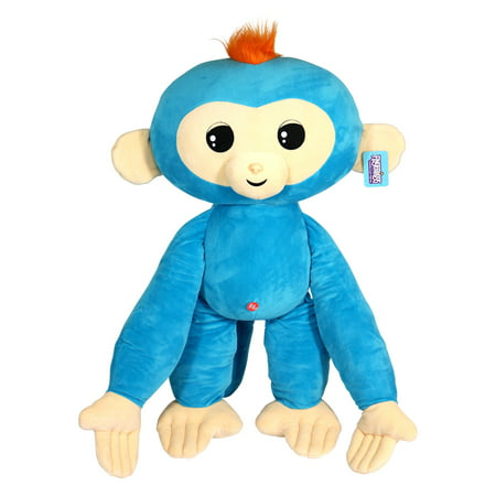Jumbo Monkey - Jumbo Fingerling - Boris - Friendly Cuddly Plush Monkey, 27