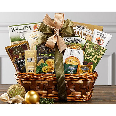 Bon Appetit Gourmet Food Gift Basket Birthday Gourmet Dinner Gift