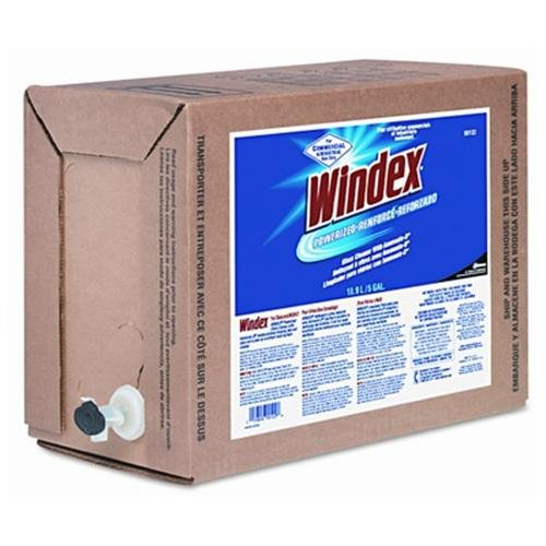 Johnsondiversey Bag-in-a-box Windex - 128 Fl Oz [4 Quart] - Blue, White (90122)