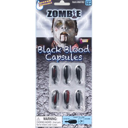 Zombie Blood Capsules F66182 for $<!---->