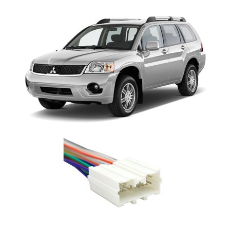 - Mitsubishi Endeavor 2004-2011 Factory to Aftermarket Radio Harness Adapter