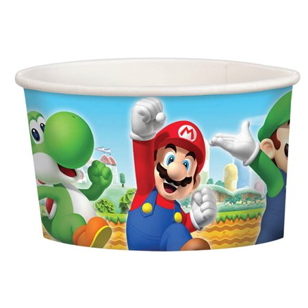 Super Mario Treat Cups (8 Pack) - Party Supplies