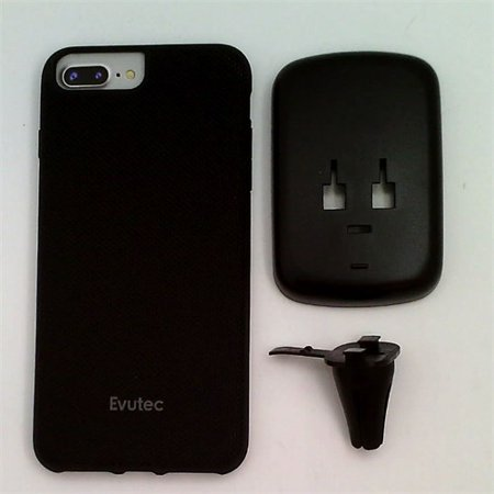 - Refurbished Evutec iPhone 8 Plus/7 Plus/6s Plus/6 Plus Case Black Nylon Ballistic Protection