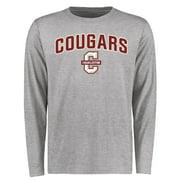 Charleston Cougars Proud Mascot Long Sleeve T-Shirt - Ash