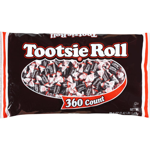 Tootsie Roll, 38.8 oz (360 count)