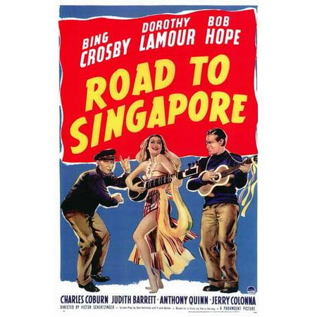 Road to Singapore POSTER Movie (27x40) (Halloween Jobs Singapore)