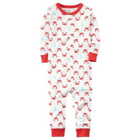 4cd22ff65 Carters - Carters Little Boys 1-Piece Snug Fit Cotton Footless PJs ...