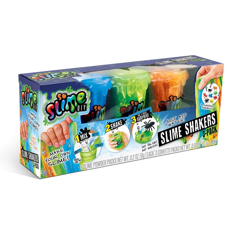 SoSlime DIY 3-Pack of Bold Creepy Slime Shakers