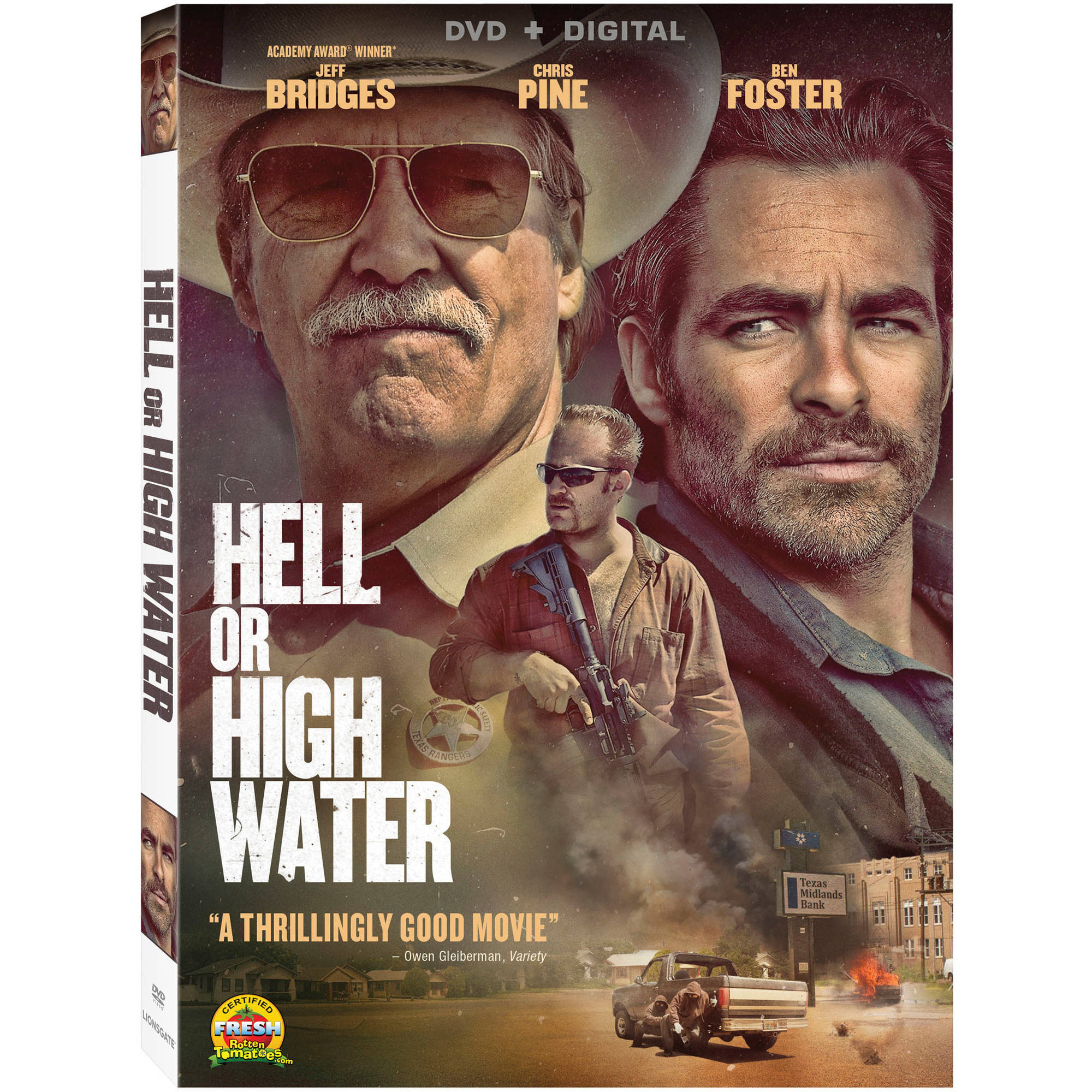 Hell Or High Water (DVD   Digital) (with INSTAWATCH) (Widescreen)