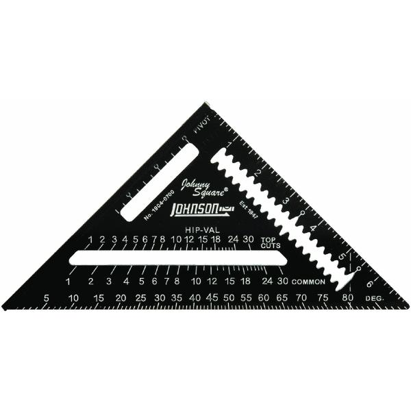 Johnson Level Johnny Square Professional Easy-Read Rafter Square