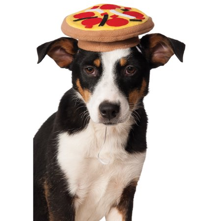 Funny Pet Cat Halloween Costumes (Pet Pizza Hat Funny Cute Dog Cat Costume Halloween Fancy Dress)