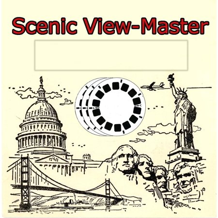 COLORADO - ViewMaster Classic 3 Reels Images from the 1950s
