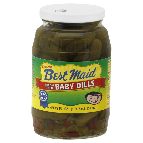 Best Maid? Fresh Pack Baby Dills Pickles 22 fl. oz. Jar