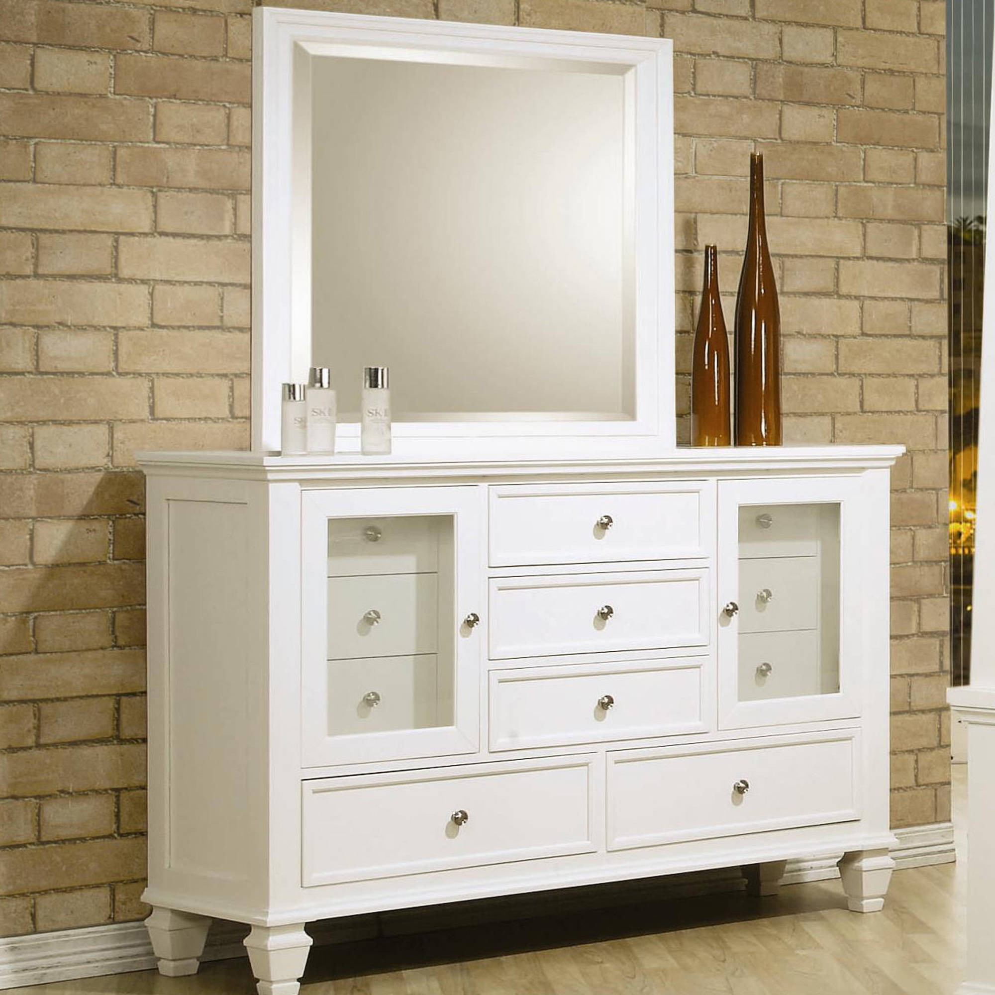 Coaster Company Sandy Beach Dresser, White
