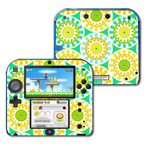 Skin Decal Wrap for Nintendo 2DS sticker Slices