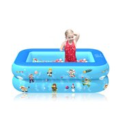 Children Inflatable Swimming Pool Summer Party Family Water Play Center Multi-Layer Outdoor Toy for Kids and Adult