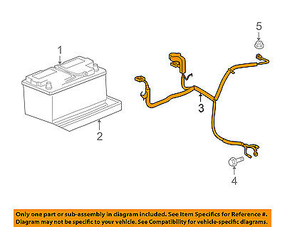 Jeep CHRYSLER OEM 08 10 Grand Cherokee Battery Cable 56050959AC
