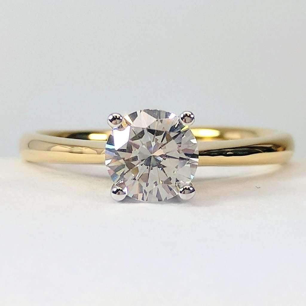 Diamond Rings For Sale Walmart: Bella D'ora 1CT Round Cut IOBI
