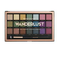 Profusion Cosmetics Eye Shadow Wanderlst 21 Shade Palette
