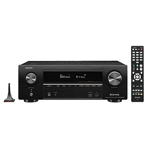 DENAVRX1500H Denon AVR-X1500H 7.2 CH 80W 4K Ultra HD WiFi Bluetooth AV Receiver with HEOS... by Denon