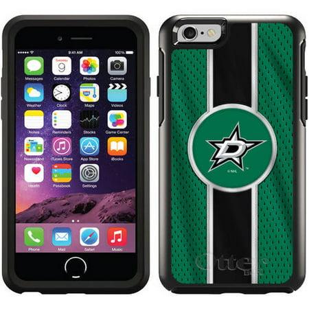 Dallas Stars Jersey Stripe Design on OtterBox Symmetry Series Case for Apple iPhone 6 Dallas Stars Jersey Case