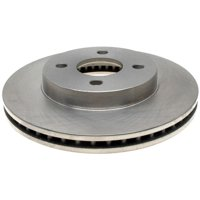 AC Delco 18A1585A Brake Disc, Stock Replacement, Front Driver Or Passenger Side