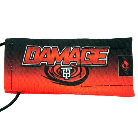 Tampa Bay Damage Barrel Sock / Cover by Wicked Sports - Red / Black