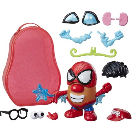 Playskool Friends Mr. Potato Head Marvel Spider-Spud Suitcase (Mr Potato Head Large)