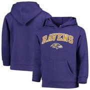 Youth Purple Baltimore Ravens Team Fleece Pullover Hoodie
