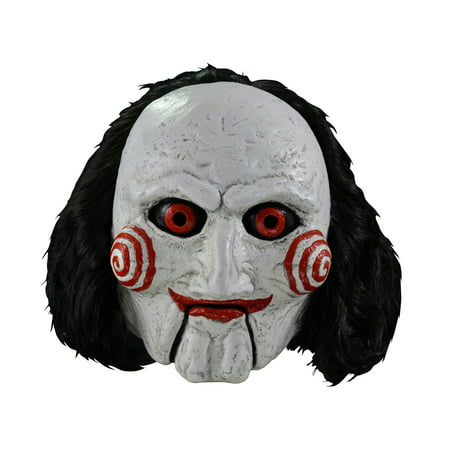 Trick Or Treat Studios Billy Puppet: Deluxe Halloween Costume Mask (Halloween Trick Or Treat New York)