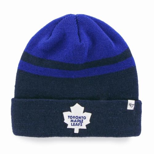 Toronto Maple Leafs '47 Cedarwood Cuffed Knit Hat Gray Blue OSFA by TWINS ENTERPRISE INC/47 BRAND