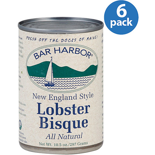 Bar Harbor New England Style Lobster Bisque Soup, 10.5 oz, (Pack of 6)