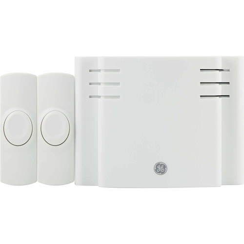 Wireless Door Chime Battery Operated Eight-Melody with Two Push Buttons