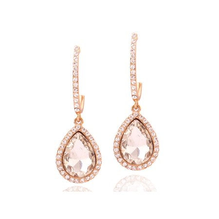 Drop Earrings Kit - Womens Earrings Rose Gold Teardrop Earring