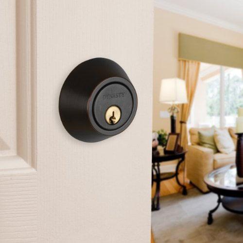 Dynasty Hardware V-CP-HER-12P Heritage Front Door Entry Lever Lockset and Set,