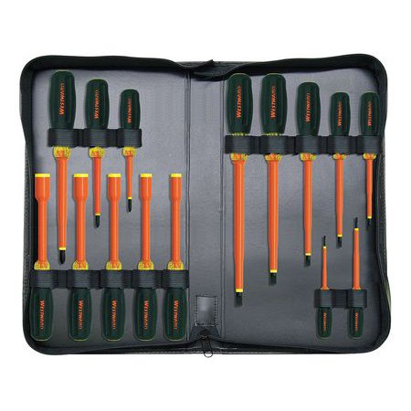 Insulated Screwdriver Set, 15 pc. WESTWARD