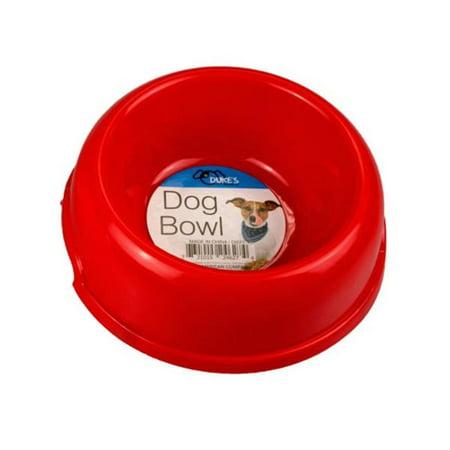 Kole Imports DI571-24 6 in. dia. & 8 oz Plastic Pet Bowl, 24 Piece - image 1 de 1