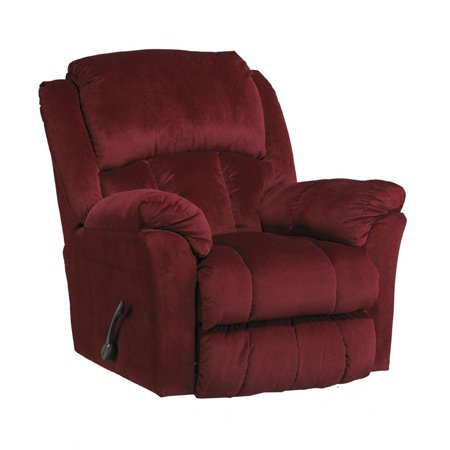 Catnapper gibson polyester lay flat recliner for Catnapper cloud nine chaise recliner