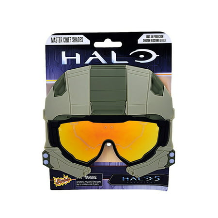 Sunstache Halo Master Chief Adult Halloween Accessory (Watch Ink Master Halloween)
