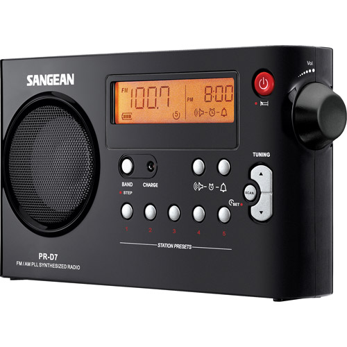 AM/FM Digital Compact Portable Radio