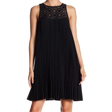 Women's Dress Midnight Shift Pleated Lyenlle $398 2