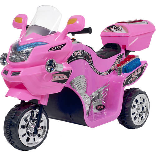 This button opens a dialog that displays additional images for this product with the option to zoom in or out. Ride on Toy, 3 Wheel Motorcycle Trike Kids by Rockin\u0027 Rollers