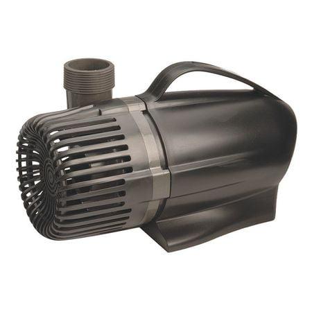 Pond Boss PW1250 ABS Waterfall Pump, 3/32 HP