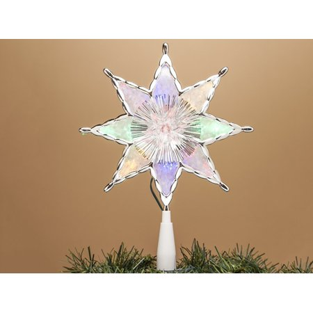 color changing 8 point star led lighted christmas tree. Black Bedroom Furniture Sets. Home Design Ideas