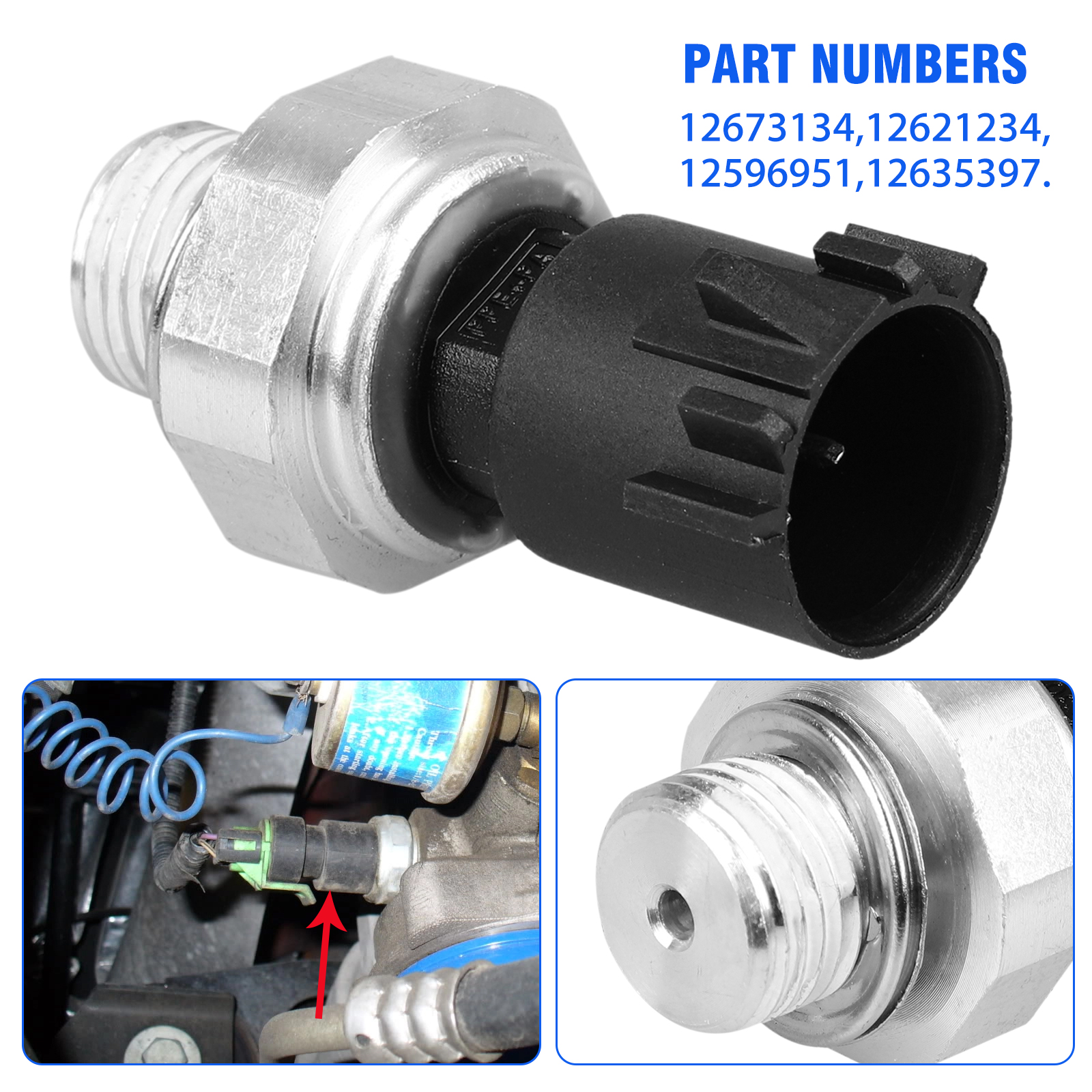 Formula Auto Parts OPS4 Engine Oil Pressure Switch//Sensor
