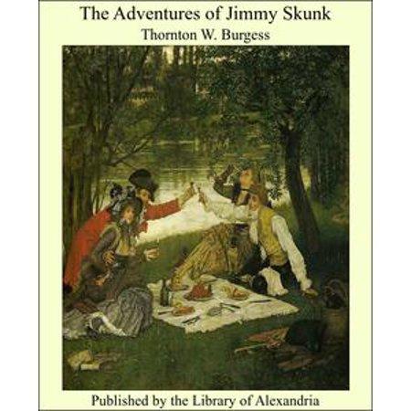 The Adventures of Jimmy Skunk - eBook - Skunk Skeleton