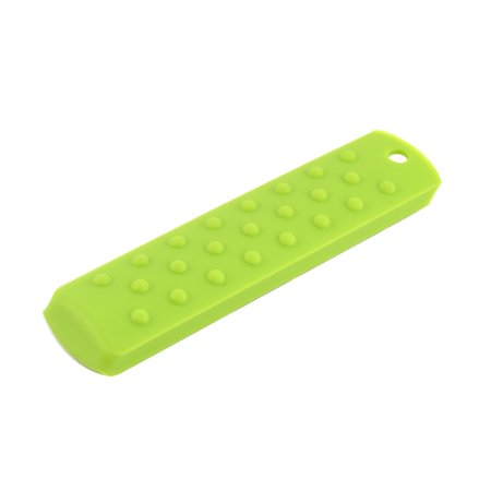 Kitchen Silicone Heat Resistant Pot Pan Handle Grip Holder Sleeve Cover Green