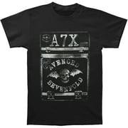 Avenged Sevenfold Men's  Case Slim Fit T-shirt Black